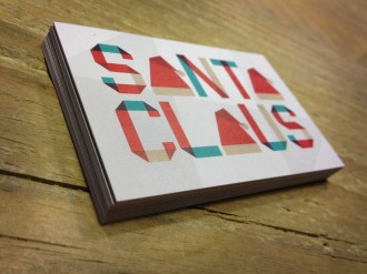 Santas Business Cards