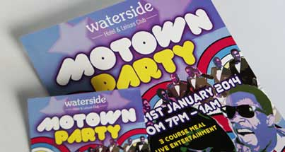 A1 motown party posters
