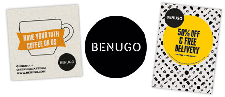 Flyers for Benugo