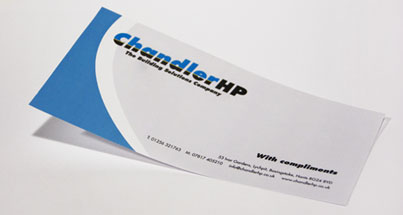 Compliment slip printied for your business