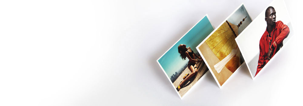 Postcards printed on variety of colours