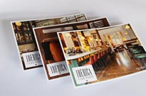 Postcard printing for Iberica on premium paper