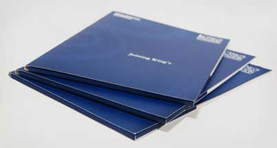 A set of lithographic printed folders