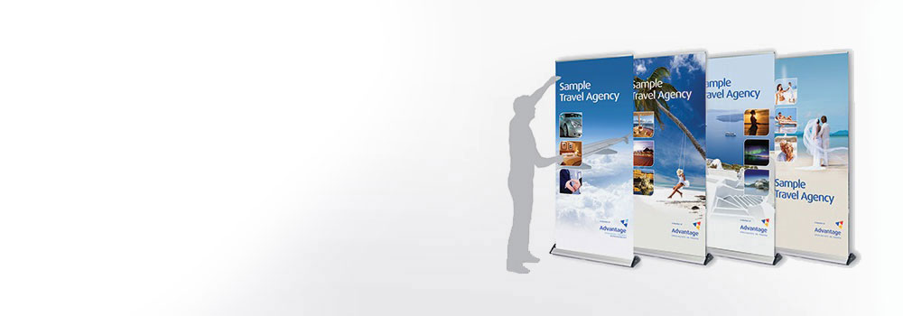 Travel agenecy pop up banner
